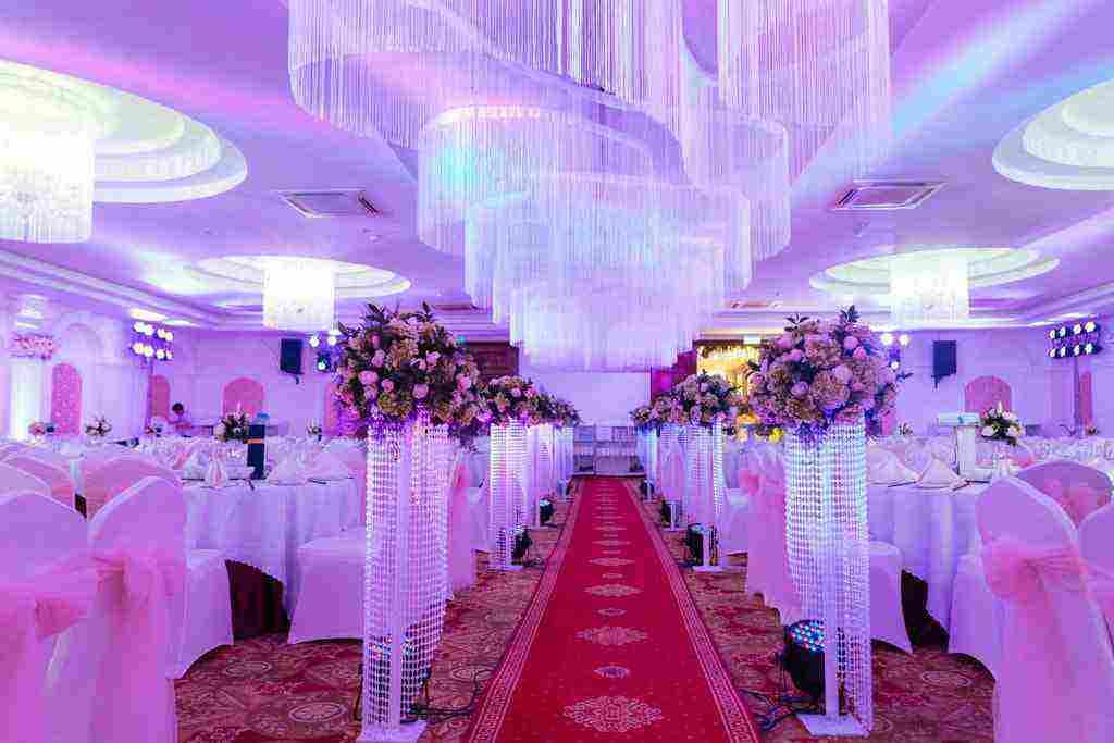 hình ảnh nhà hàng tiệc cưới hương phố mới nhất