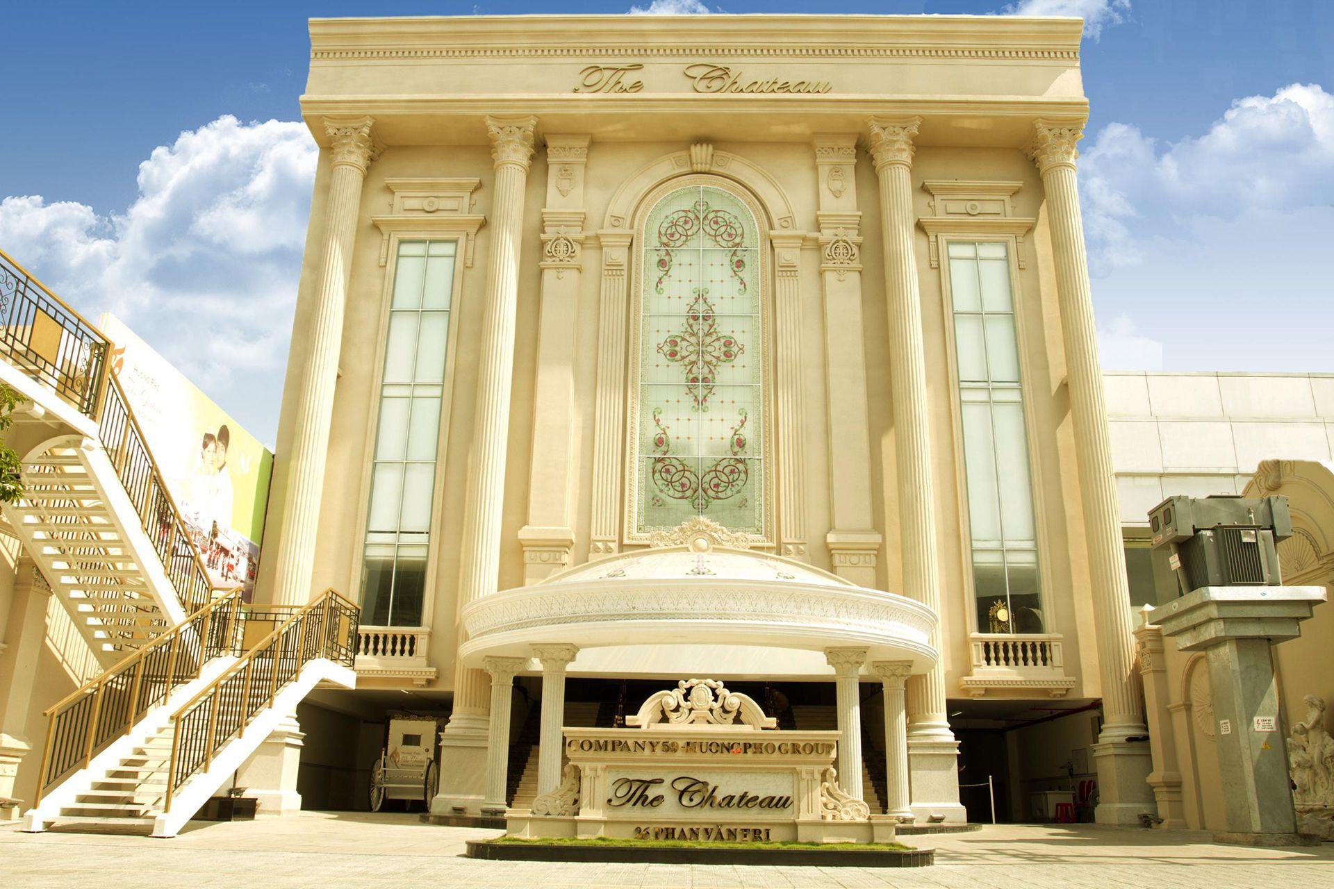 Nhà Hàng Tiệc Cưới đẹp Nhất Sài Gòn The Chateau 2